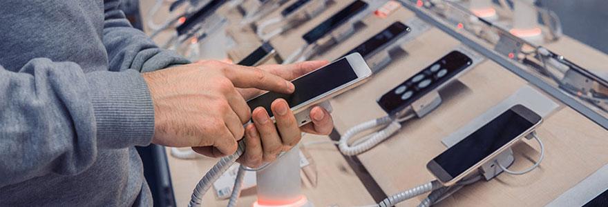 Achat de smartphones